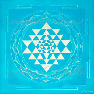 Sri Yantra fine art