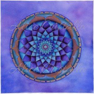 Krishna_mandala_acquerello_alice_cristallo_stampa_fine_arte