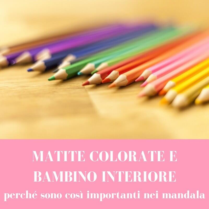 matite colorate mandala bambino interiore 1