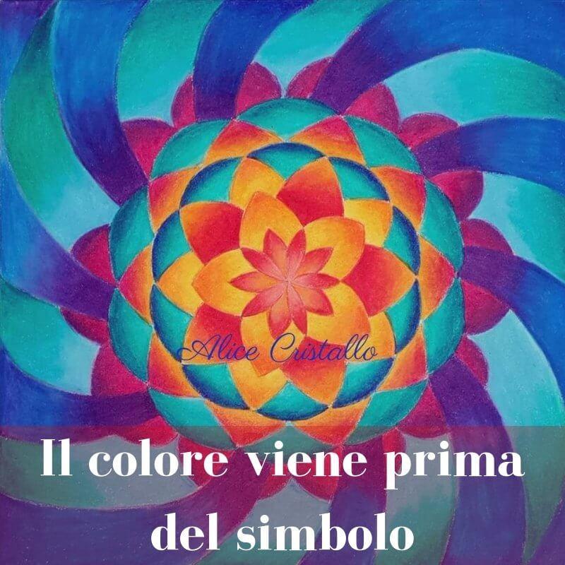 il colore viene prima del simbolo